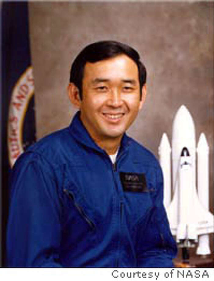 ELLISON S. ONIZUKA (LIEUTENANT COLONEL, USAF)  NASA ASTRONAUT (DECEASED) Photo of the Challenger astronaut that the Sunnyvale base is named after. It could go with, Baseclosure14_Onizuka. Ran on: 05-14-2005  The base in Sunnyvale is named after Ellison Onizuka, who died in the Challenger explosion. Ran on: 05-14-2005  The base in Sunnyvale is named after Ellison Onizuka, who died in the Challenger explosion. Photo: Courtesy Of NASA