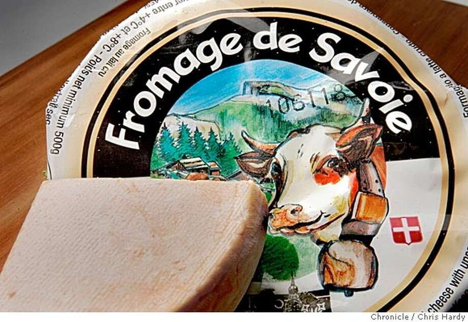 rawcheese04_ch_029.jpg  New type of cheese, Fromage du Savoie made from raw milk in San Francisco  4/28/05 Chris Hardy / San Francisco Chronicle Ran on: 05-04-2005  Fromage de Savoie is a revamped, semi-hard version of Reblochon, made from raw-milk cheese that is aged 60 days. Photo: Chris Hardy