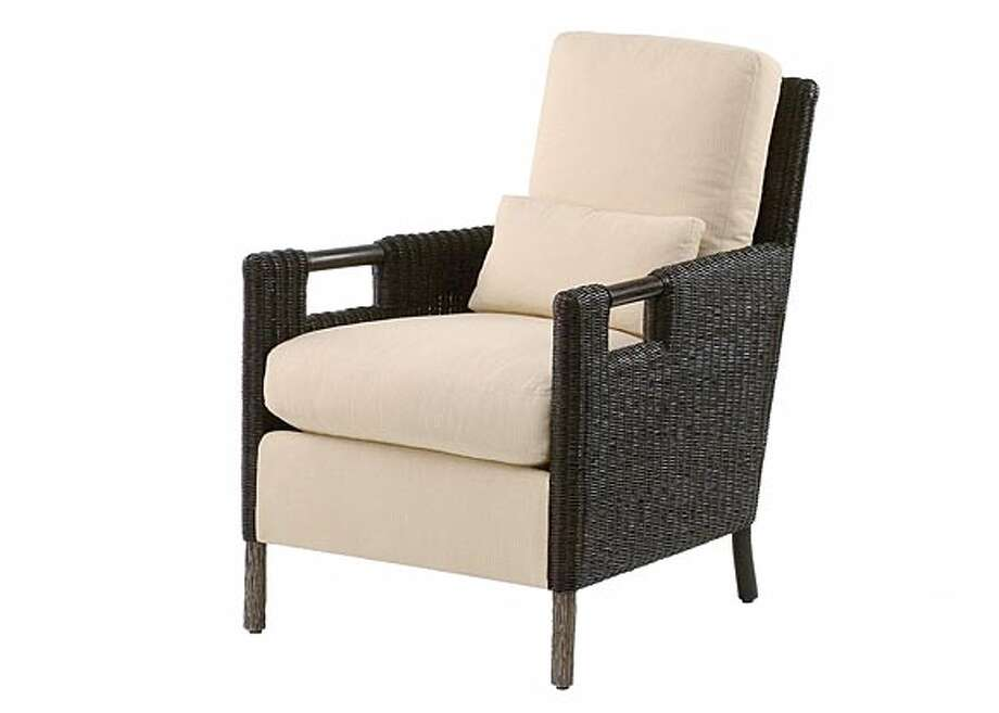 Thomas Pheasant Collection, Club Chair in Woven Core