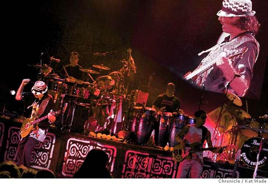 SANTANA24_074_KW.jpg Carlos Santana performs at The Warfield Theater on 6/22/04 in San Francisco. Chronicle Photo by Kat Wade Photo: Kat Wade