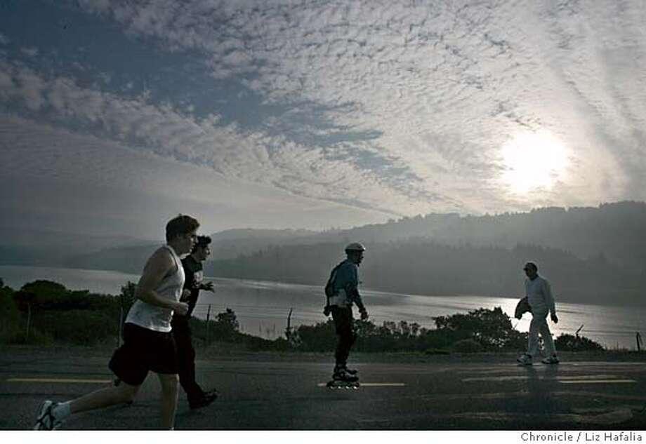 PENINSULA_010_LH.JPG Sawyer Camp trail at the San Francisco Watershed. Shot on 11/16/04 in San Mateo. LIZ HAFALIA/The Chronicle MANDATORY CREDIT FOR PHOTOG AND SF CHRONICLE/ -MAGS OUT Metro#Metro#Chronicle#11/17/2004#ALL#5star##0422470581 Photo: Liz Hafalia
