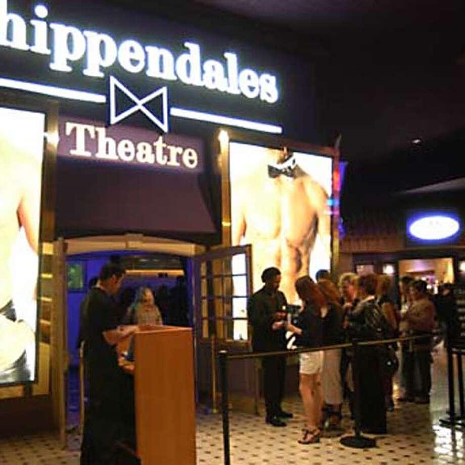 Las Vegas on 4/9/05.  Spud Hilton / The Chronicle Photo: Spud Hilton