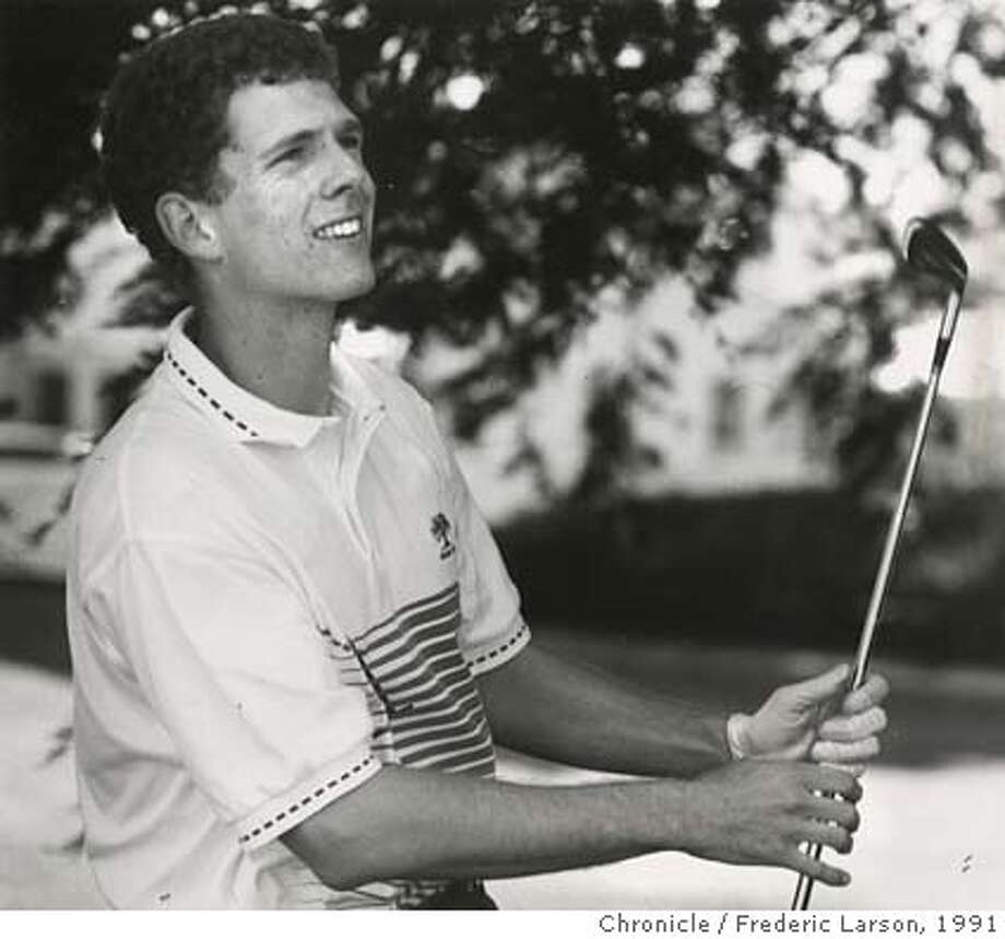Ben Furth, Berkeley CAL golfer Photo: Frederic Larson / 1991