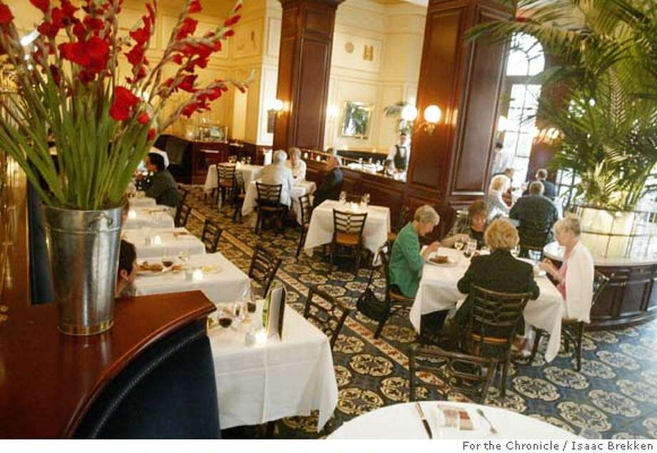 A view of Bouchon at the Venetian in Las Vegas on Thursday April 14, 2005. (Isaac Brekken for the Chronicle) Photo: Isaac Brekken