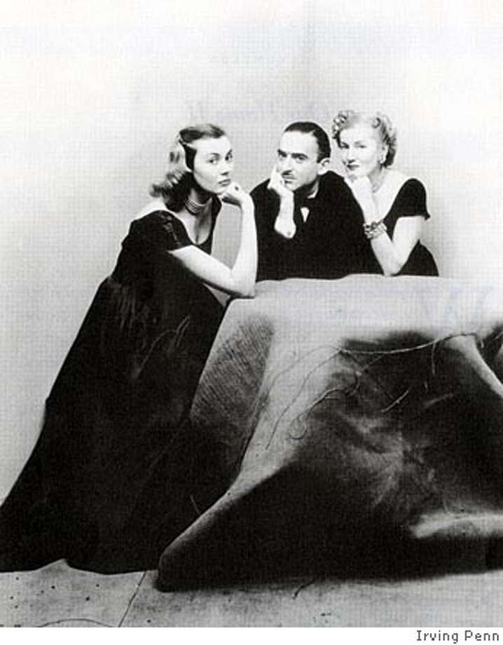 Mr. and Mrs. Alexander Liberman with Francine du Plessix, February 1948. Photo by Irving Penn BookReview#BookReview#Chronicle#05-08-2005#ALL#2star#b2#0422873386