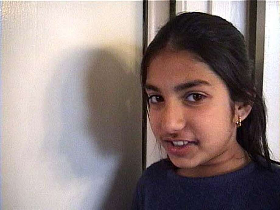 """Harpreet Sangha, 10, of San Francisco is featured in a short movie about bridging cultural differences, by filmmaker Arti Jain. From the film """"A Secret Language"""""""