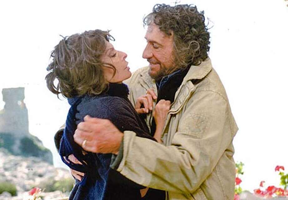 """Too Much Romance�It's Time for Stuffed Peppers,"" with Sophia Loren and F. Murray Abraham. on 11/9/04 in . / HO"
