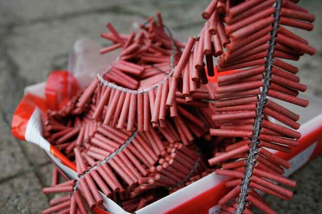 Chiński Nowy Rok Święto Wiosny chińskie fajerwerki petardy