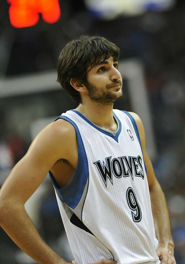 Minnesota Timberwolves' Ricky Rubio of Spain in the second half of an NBA basketball game against the Detroit Pistons Wednesday, Jan. 18, 2012, in Minneapolis. The Timberwolves won 93-85. (AP Photo/ Jim Mone) Photo: Jim Mone, Associated Press