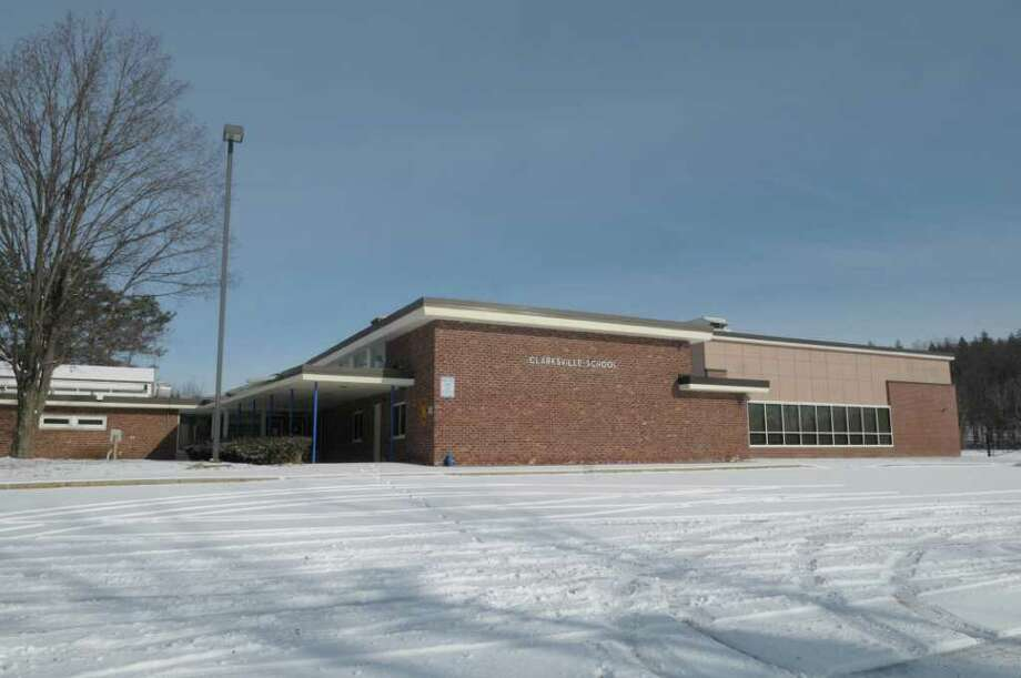 A view of the Clarksville Elementary School on Sunday, Jan. 22, 2012 in Clarksville, NY.  Albany County Sheriff's Office is looking to rent the building out to use as a substation.   (Paul Buckowski / Times Union) Photo: Paul Buckowski