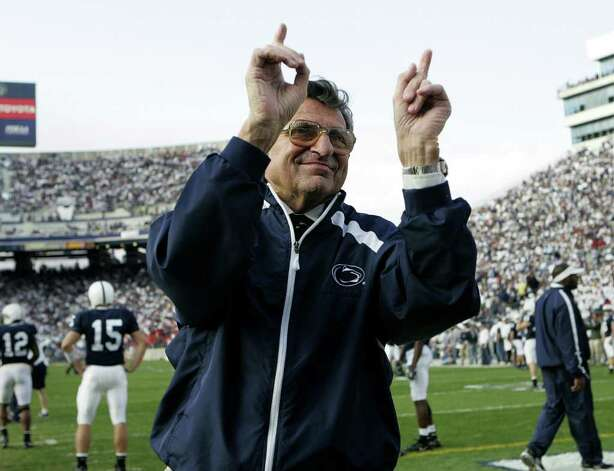 Penn state coach   Joe Paterno, who won more games than 