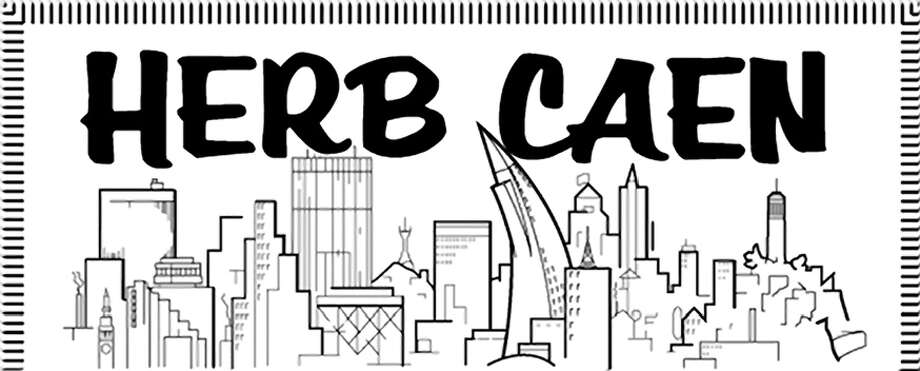 Herb Caen logo Photo: Chronicle Graphic / Chronicle