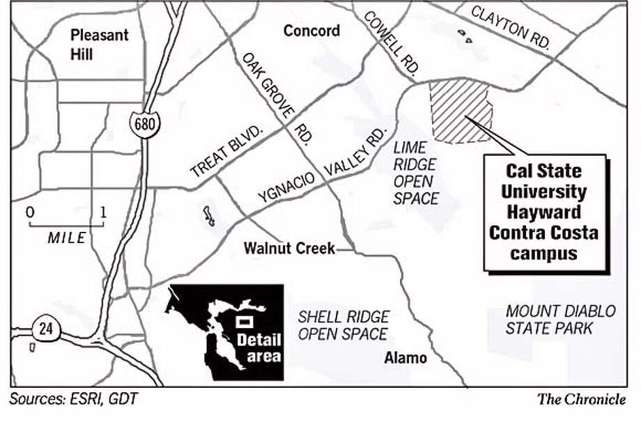 Csueb Concord Campus Map.Concord Supervisor Pushes A State University For Contra Costa