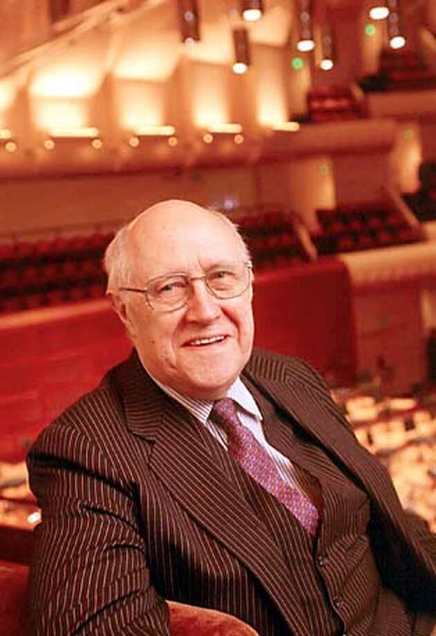 Lord of the Strings: Renowned cellist Mstislav Rostropovich conducts the San Francisco Symphony.