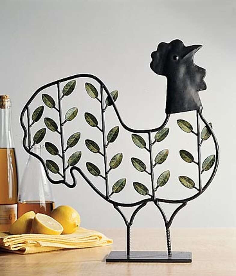 Chickens Come Home To Roost In Decorative Accessories SFGate Cool Roosters Decorative Accessories