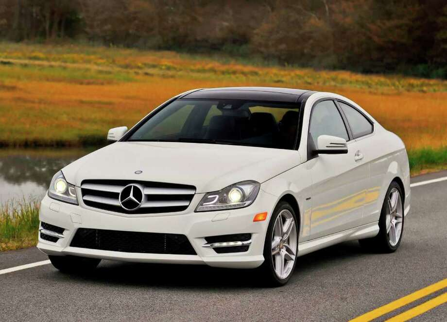 Mercedes Benz C-Class was popular with wealth drivers in California. Photo: Mercedes-Benz / Copyright 2011