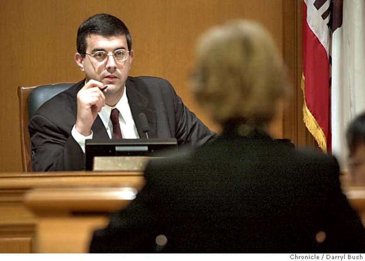 Supervisor Chris Daly at his office and at a Budget Committee meeting at City Hall. The day after he made two appointments to the SF Public Utilities Commission while acting mayor. 10/23/03 in San Francisco. DARRYL BUSH / The Chronicle