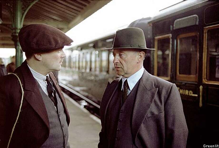 "Ian Puleston-Davies, left, plays Eric Cooper and Michael Kitchen is Detective Christopher Foyle in ""Masterpiece Theatre's"" ""Foyle's War."""