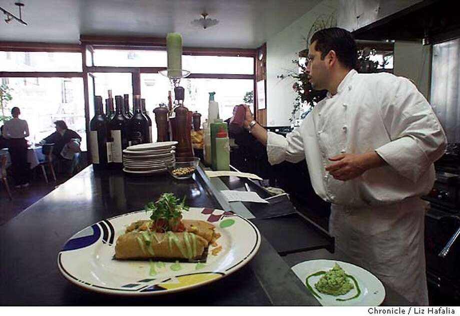 D.21PANCHITA2-C-14FEB01-FD-LH --Restaurant review of Panchita's #3--3115 22nd St.  (BY LIZ HAFALIA/THE SAN FRANCISCO CHRONICLE) Datebook#Datebook#SundayDateBook#11-07-2004#ALL#Advance##421895911 Photo: LIZ HAFALIA