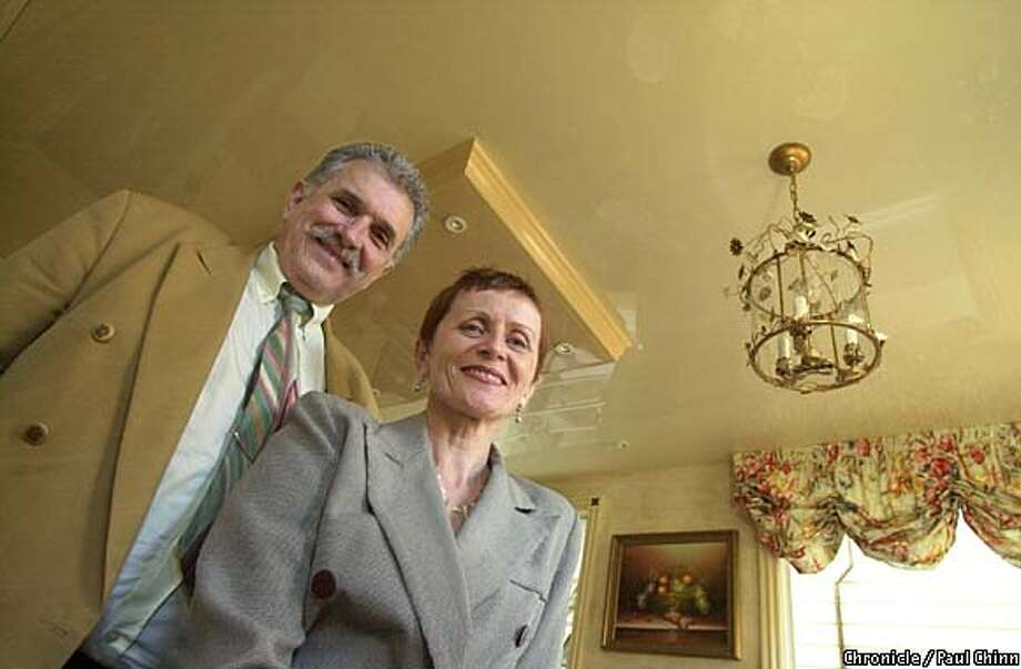 Marie and Jean Gachet moved from Marseilles to the Bay Area in 1999 and brought with them French Ceiling. Chronicle photo by Paul Chinn