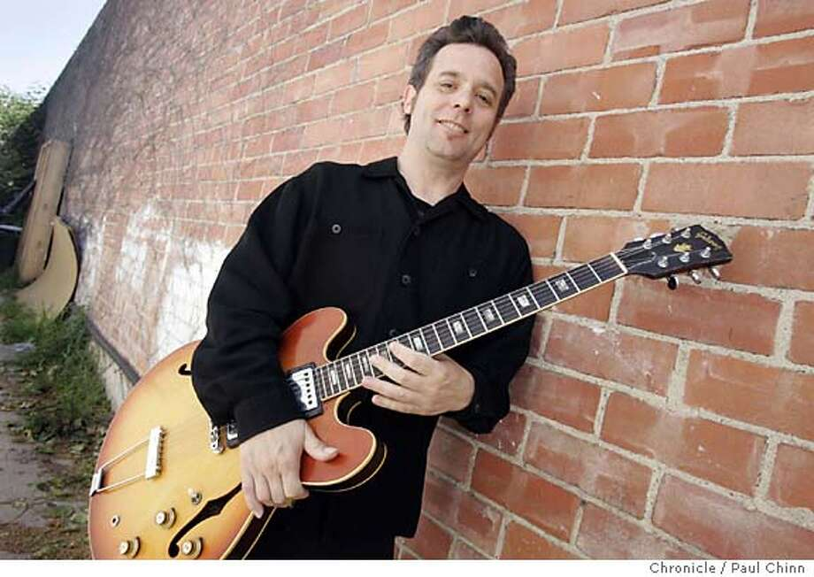 bernard01_031_pc.jpg  Jazz guitarist Will Bernard at San Pablo Recorders studio on 4/20/05 in Berkeley, CA.  PAUL CHINN/The Chronicle MANDATORY CREDIT FOR PHOTOG AND S.F. CHRONICLE/ - MAGS OUT Photo: PAUL CHINN