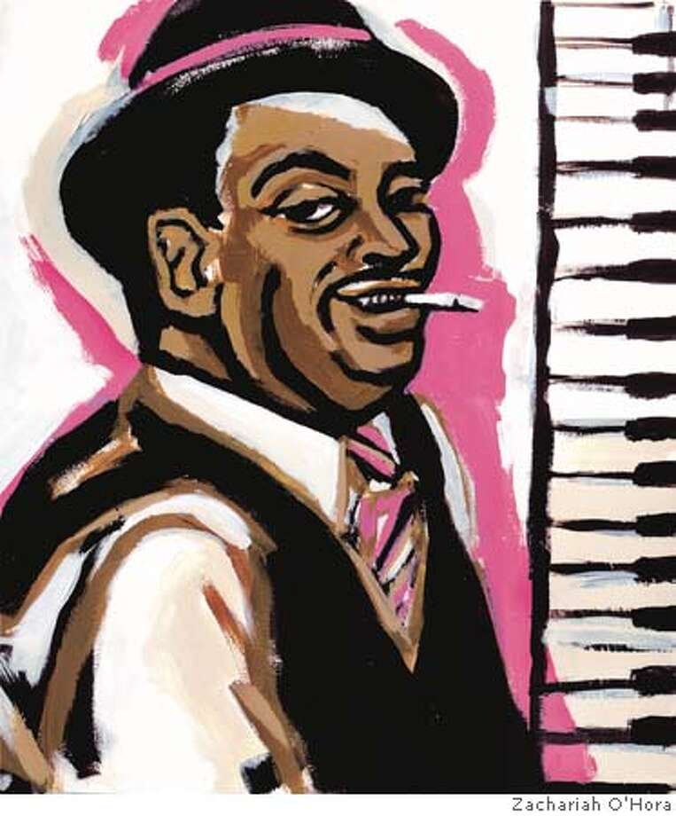 Illustration of Fats Waller for his centennial  on time use only by Zachariah O'Hora