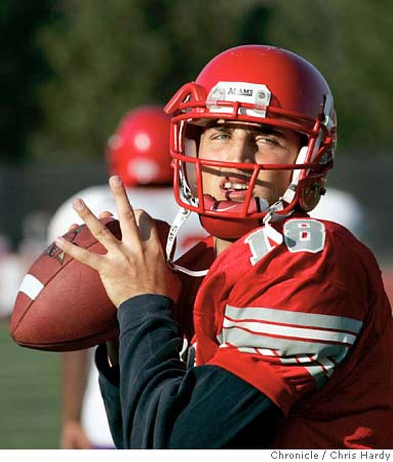 Joe Ayoob, star quarterback for the City College of San Franicisco Rams. He'll play for Cal Bears next season. San Francisco,CA on 11/2/04  San Francisco Chronicle/Chris Hardy Photo: Chris Hardy