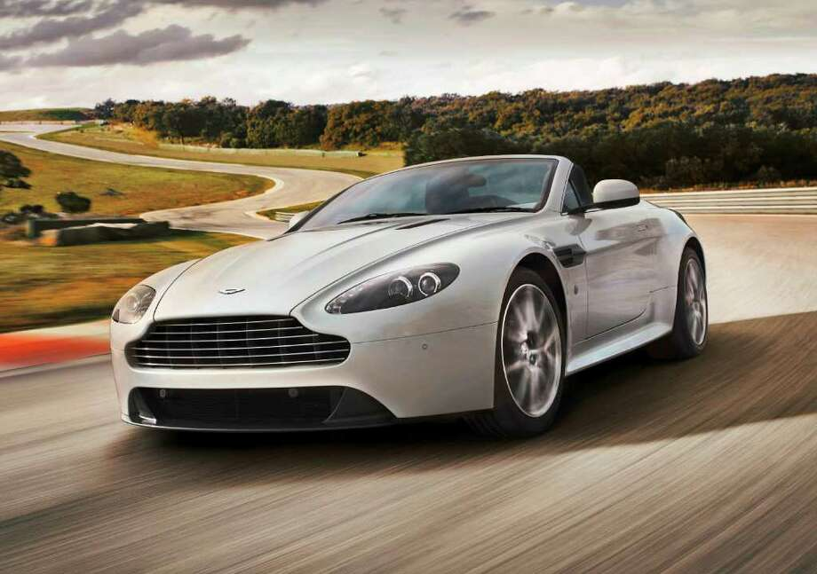 Aston Martin V8 Vantage CoupeRead About A Special Rental Program At Hobby  Airport. Photo: