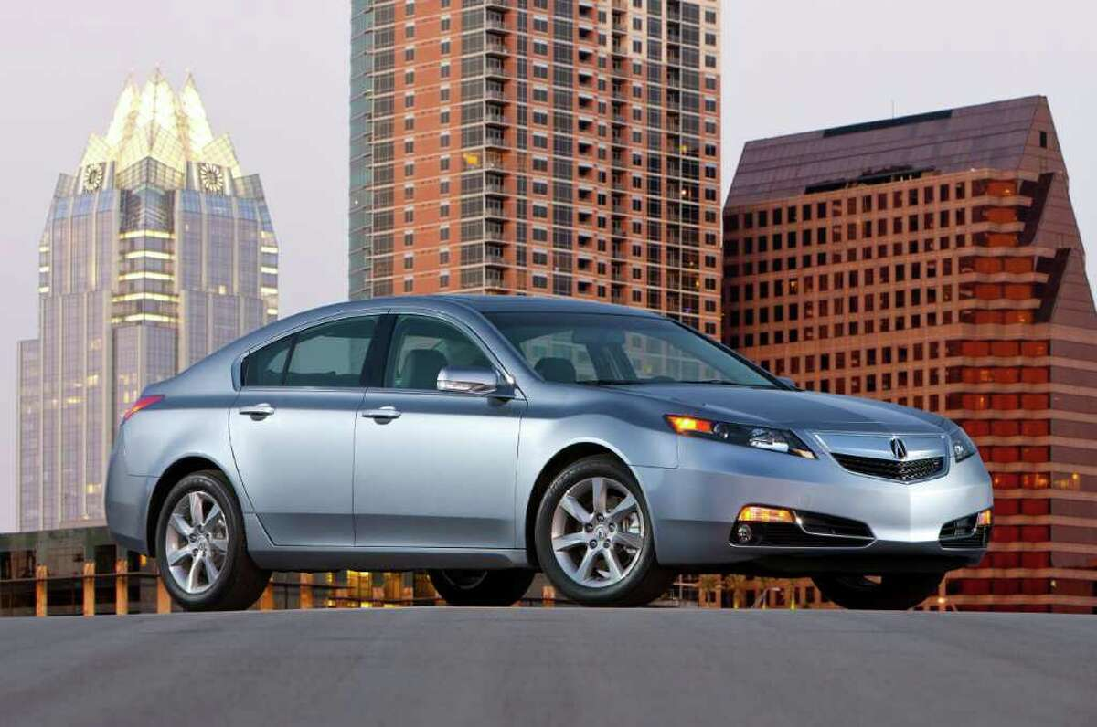 Connecticut's most stolen cars of 2015 10. 2003 Acura TL