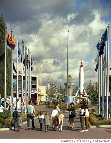 "Yesterday�s Tomorrowland: When the park opened in 1955, this original ""land"" aspired to represent the futuristic year of 1986. Photo courtesy of Disneyland Resort"