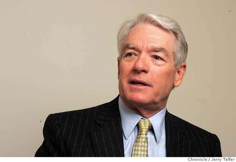 Event on 4/19/05 in San Francisco. Charles Schwab, financial guru. Chronicle photo by Jerry Telfer / The Chronicle Photo: Jerry Telfer