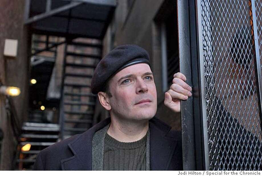 "CAPTION: BOSTON, MASS.--4/21/2005-- Jefferson Mays, star of ""I Am My Own Wife,"" now playing in Boston at the Wilbur Theater. CREDIT: JODI HILTON FOR THE SAN FRANCISCO CHRONICLE Photo: Jodi Hilton"
