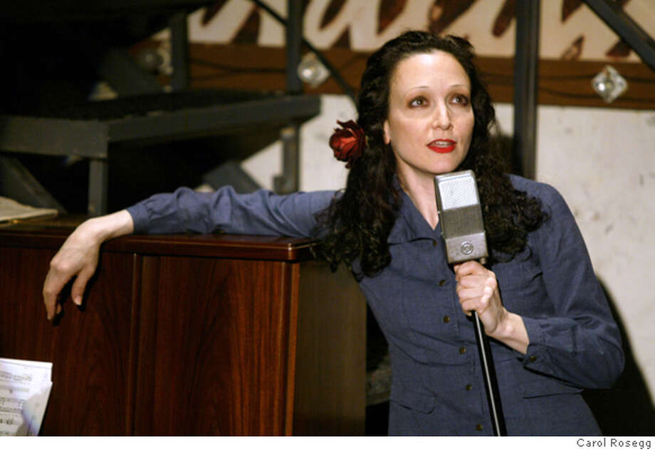 Bebe Neuwirth in the Original Off -Broadway production of Here Lies Jenny at the Zipper Theatre. Photo by Carol Rosegg Photo: Carol Rosegg
