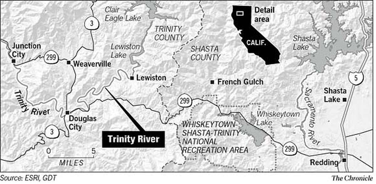 Trinity River. Chronicle Graphic