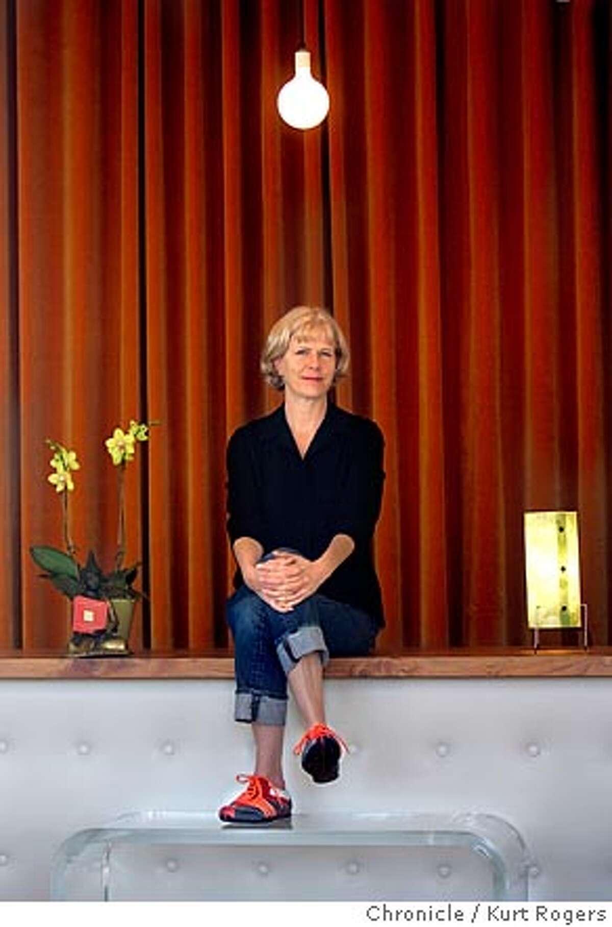 Interior designer Jean Flynn in her shop in Berkeley on San Pablo Ave . 3/15/05 in Berkeley,CA. KURT ROGERS/THE CHRONICLE
