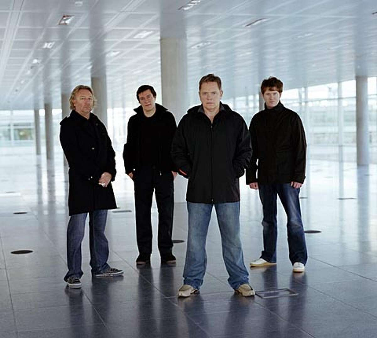 The band New Order.