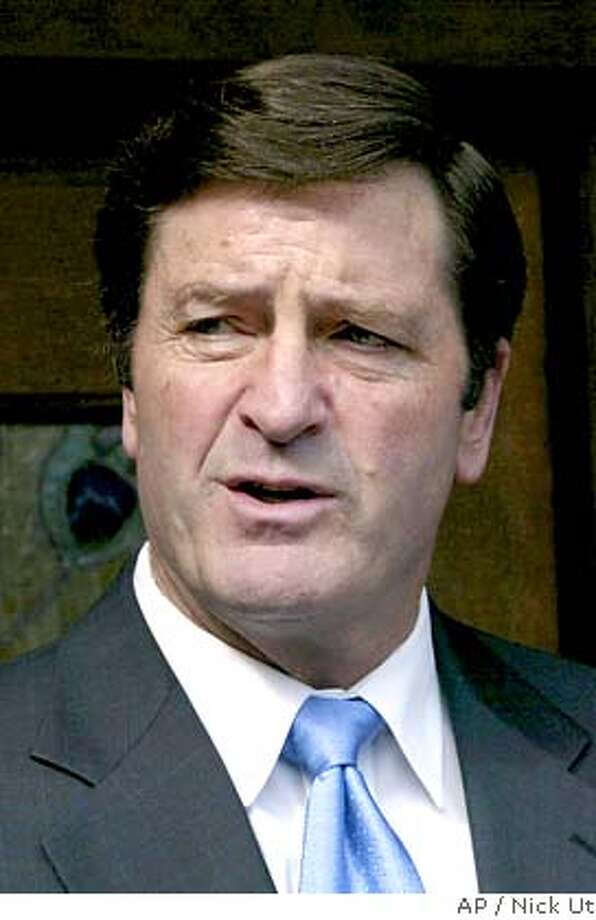 California State Insurance Commissioner John Garamendi is shown Feb, 28, 2005, in Pasadena, Calif. Taking the witness stand Wednesday, March 2, 2005, in the state's lawsuit in federal court, Garamendi detailed discussions with the group of investors backed by French bank Credit Lyonnais that was seeking to acquire Executive Life in the early 1990s. (AP Photo/Nick Ut) Ran on: 03-10-2005  Garamendi Photo: NICK UT