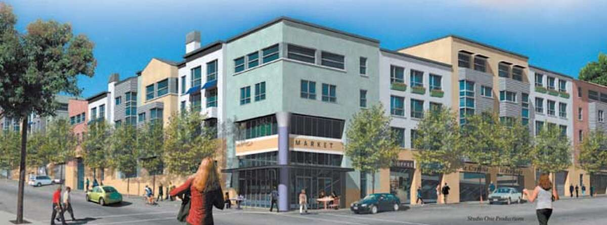 A design for new housing in San Francisco's design district. Courtesy Studio One Productions