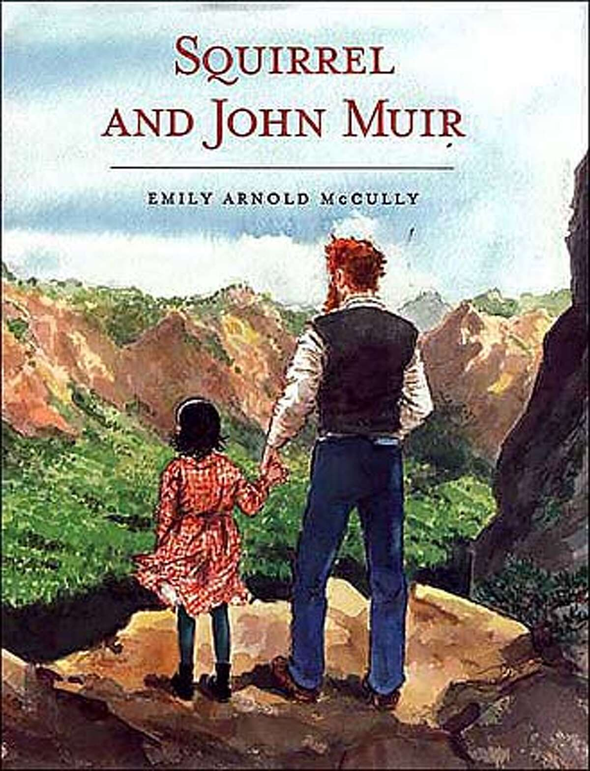 KIDSWHITMAN31.JPG Book cover of SQUIRREL AND JOHN MUIR by Emily Arnold McCully HO MANDATORY CREDIT FOR PHOTOG AND SF CHRONICLE/ -MAGS OUT BookReview#BookReview#Chronicle#10-31-2004#ALL#Advance#M6#0422435052 BookReview#BookReview#Chronicle#10-31-2004#ALL#Advance#M6#0422435052