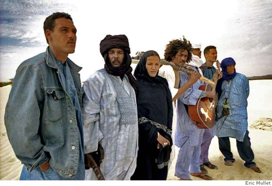 Tinariwen - The Blue Man's Blues Photo: Eric Mullet
