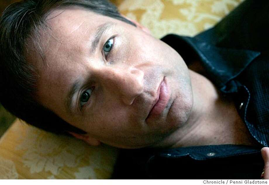 DUCHOVNYMOVIE029PG.JPG  actor David Duchovny photographed at the Ritz.  The San Francisco Chronicle, Penni Gladstone  Photo taken on 3/30/05, in San Francisco, Photo: Penni Gladstone