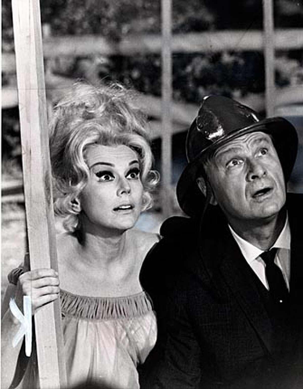 Eva Gabor and eddie Albert in '60s sitcom,