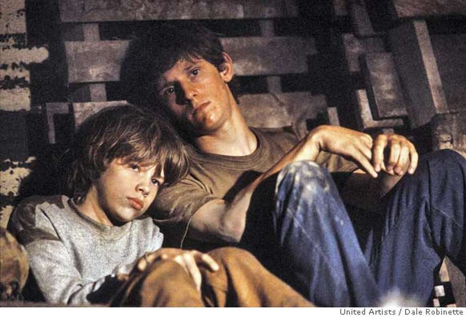 "(NYT14) UNDATED -- Oct. 26, 2004 -- GREEN-UNDERTOW-2 -- Jamie Bell (right) and Devon Alan in ""Undertow,"" the new film from David Gordon Green. Green went to New Orleans last year looking for a movie, which eluded him. But he found a home. Green's much-anticipated film version of John Kennedy Toole's cult novel, ""A Confederacy of Dunces,'' collapsed in a mire of legal, financial and personal entanglements. While in New Orleans, he managed to edit ""Undertow'' which was shot in the summer of 2003 and was released last week by Metro-Goldwyn-Mayer's United Artists unit on a handful of screens following its well-received New York Film Festival premiere. (Dale Robinette/United Artists/The New York Times)**ONLY FOR USE WITH STORY BY MICHEL MARRIOTT SLUGGED: GREEN-UNDERTOW. ALL OTHER USE PROHIBITED. XNYZ Datebook#Datebook#Chronicle#10/29/2004##Advance##0422433608 Photo: Dale Robinette/United Artists"