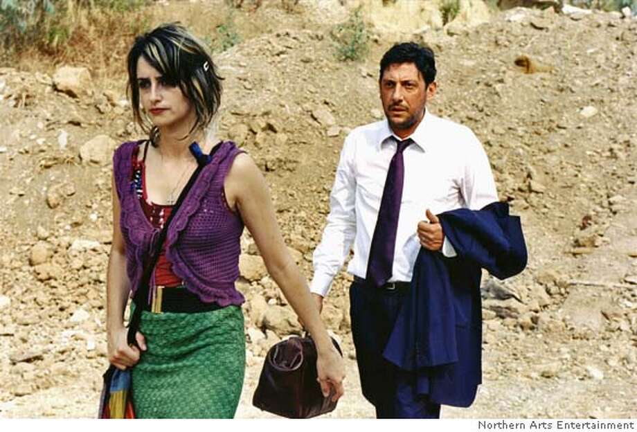 "In this photo provided by Northern Arts Entertainment, Italia (Penelope Cruz) turns her back on Timoteo (Sergio Castellitto), a man she has had an affair with in ""Don't Move."" (Northern Arts Entertainment)"