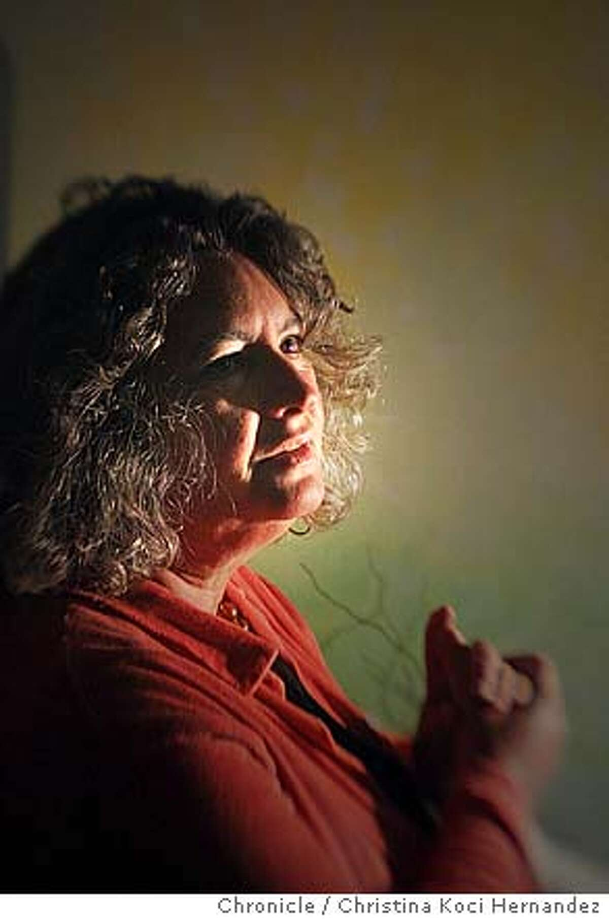 on Starhawk - a longtime witch, pagan, goddess, ecofeminist, political activist, and author of several books. A San Francisco institution, Starhawk lives part-time in a collective on Folsom Street with her housemates, the Black Cats. Our story will appear on Halloween... .CHRISTINA KOCI HERNANDEZ/CHRONICLE