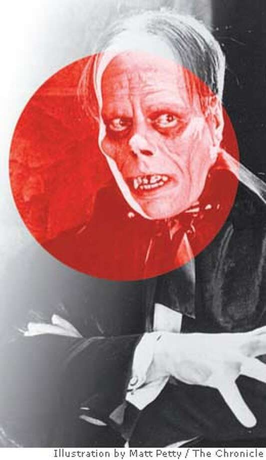 Lon Chaney as the Phantom of the Opera. Chronicle photo illustration by Matt Petty