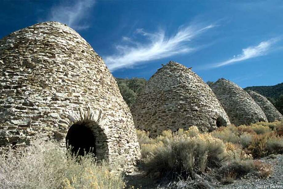 The Wildrose Charcoal Kilns, built in 1877, were used to reduce pines from the area to charcoal for use in silver smelters. Photo by Susan Guhm, special to the Chronicle