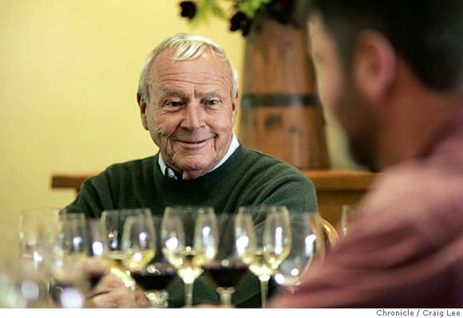 Arnold Palmer at Luna Vineyards in Napa, where he is an investor. Event on 4/12/05 in Napa, CA.  CRAIG LEE / The Chronicle Photo: CRAIG LEE