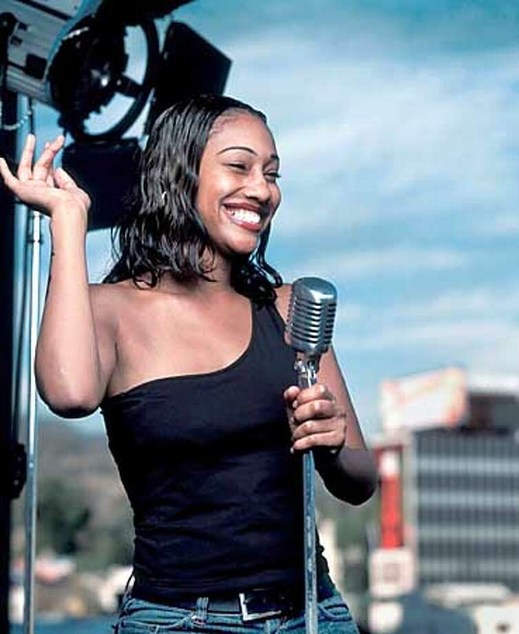AMERICAN IDOL: Superstar hopeful Ilene Jackson warms up for her chance to compete on AMERICAN IDOL premiering Tuesday, January 21 (8:00-10:00 PM ET/PT) on FOX. ��2002 FOX Broadcasting Co. Cr: Joe Viles/FOX HANDOUT PHOTO/VERIFY RIGHTS AND USEAGE Photo: HANDOUT