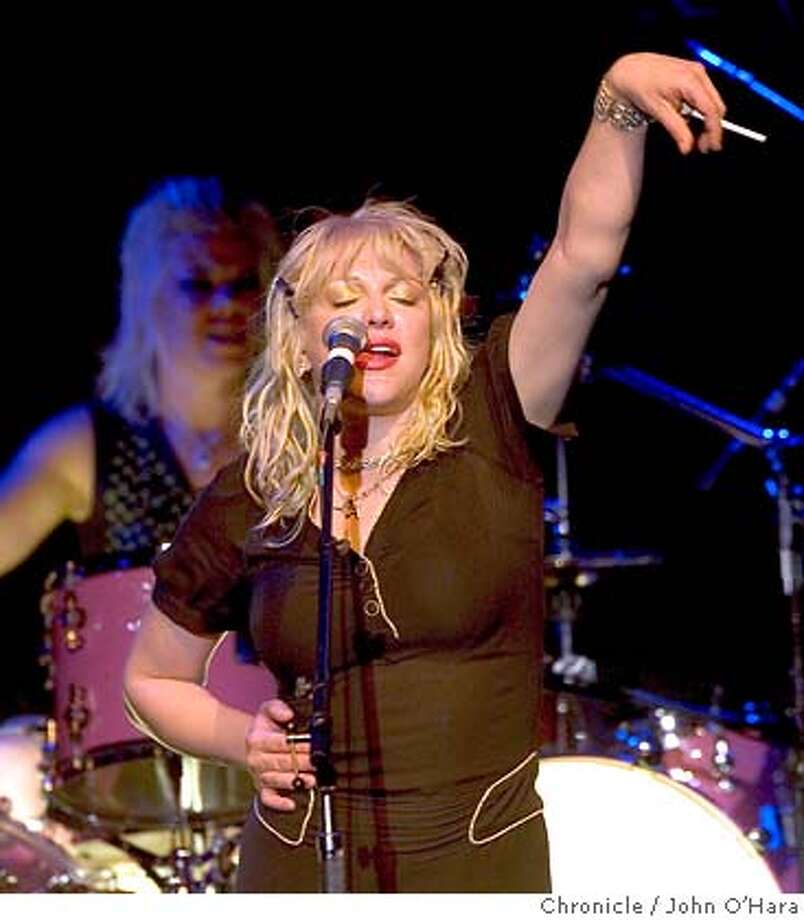 Fillmore Auditorium, 1805 Geary Blvd. San Francisco,CA.  Courtney Love, in performance